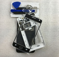 Full Housing Case + Front Glass Screen Lens + Tools For Samsung Galaxy S2 i9100 Replacement Parts Black / White