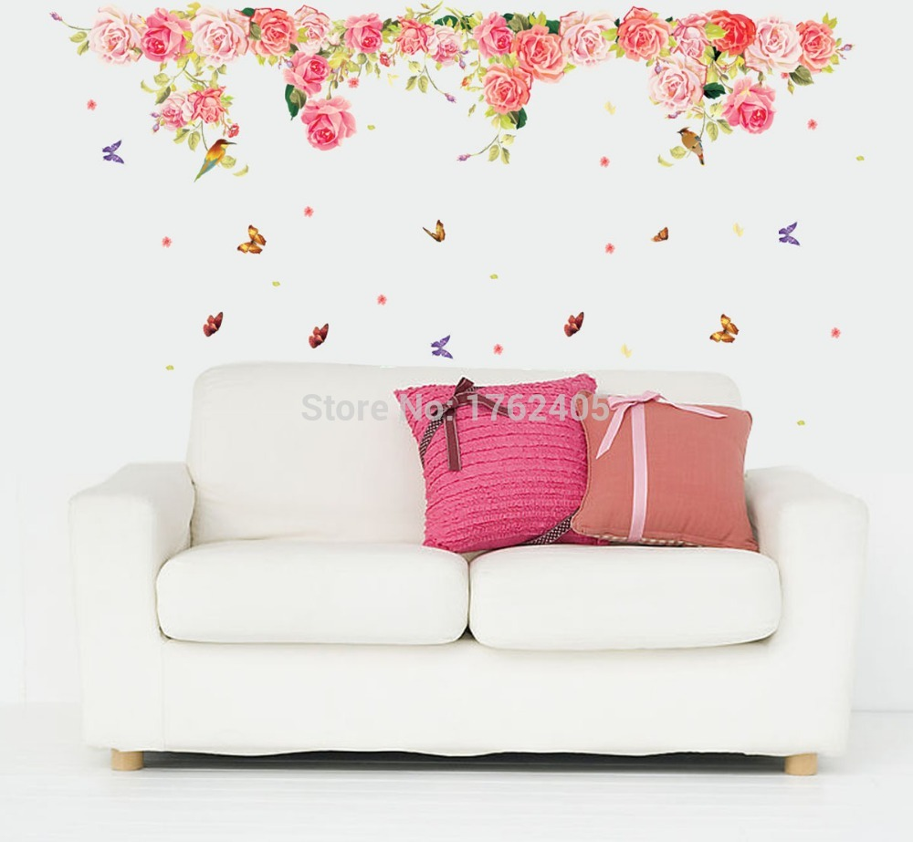 Wall Stickers Roses