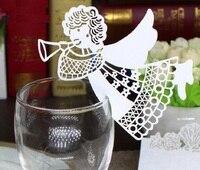 100 cái Hot Hollow Gril Giấy Nơi Thẻ Escort Thẻ Cup Thẻ Wine Glass Thẻ Giấy cho Đám Cưới Cải Cách Hành Chính Cưới ủng h