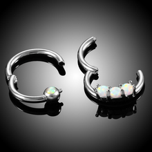 Steel Nose Piercing Hinged Nose Earrings For Women