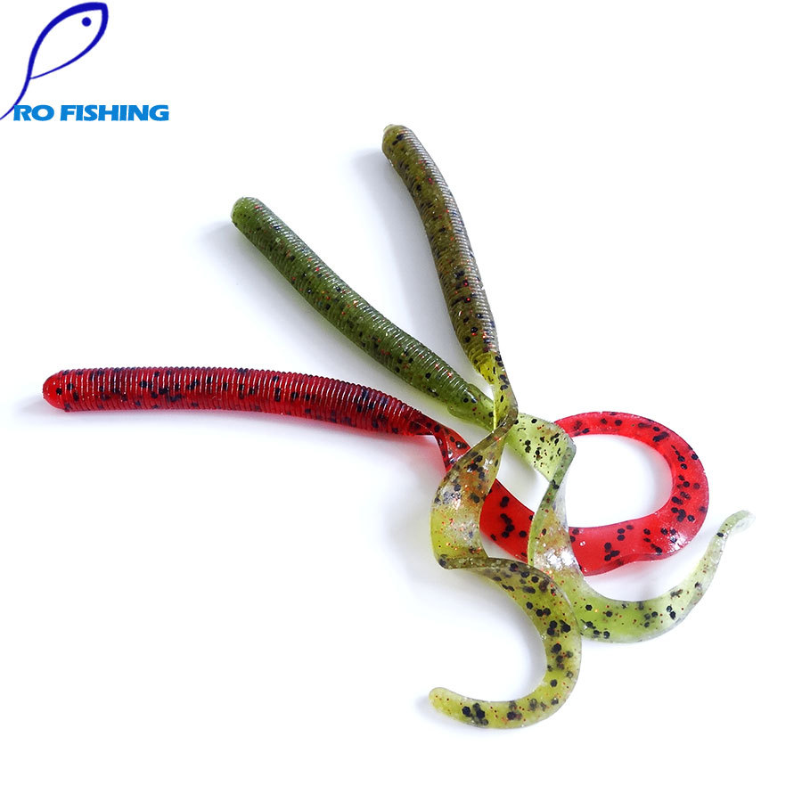 Pesca artificias isca lure salt for japan shad for Worms for fishing bait