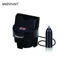 WEISHAN auto bluetooth handsfree car kit FM transmitter modulator a2dp Mp3 player mobile phone holder bluetooth voiture