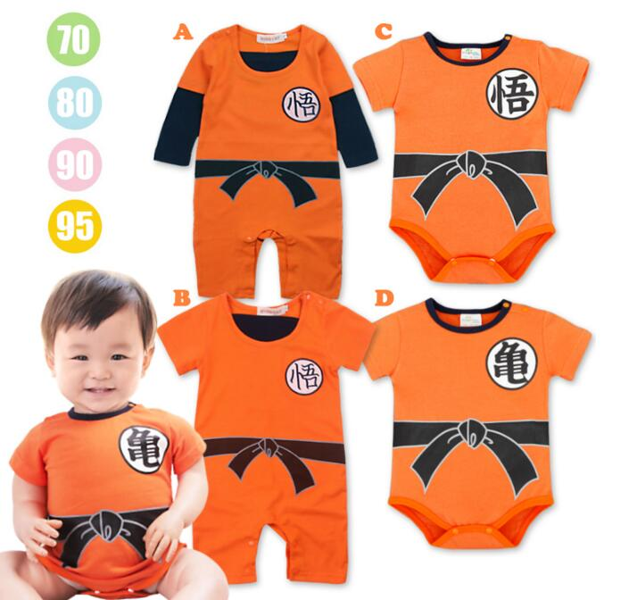 Dragon Ball Goku Baby Costume Newborn Infant Boy Clothes Romper Jumpsuit  cosplay costume outfit babysuit on Aliexpress.com  09a09a14e4