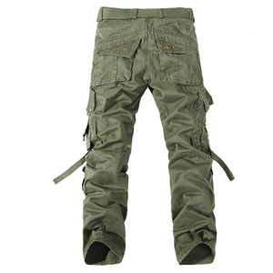Image 2 - 2019 New Men Cargo Pants army green big pockets decoration mens Casual trousers easy wash male autumn army pants plus size 42