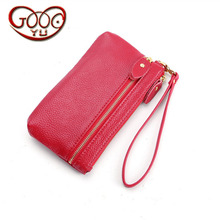 ФОТО korean version of simple leather phone bag classic j fashion hot purse daily small multicolor storage bag