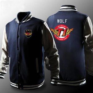 Image 4 - Skt ceket erkekler Lol Skt T1 Hoodies polar fakher fıstık Hoodie Polerones Hombre kurt SKT patlama Sudaderas Para Hombre kazak z20