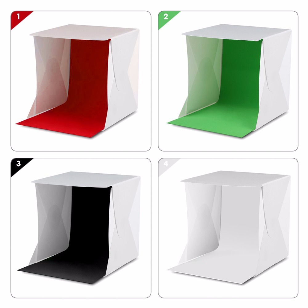 new 30*30cm Shadowless Photography Back Light Table Top Photo Booth Background Light Box lighting light box light photo boxlight box -