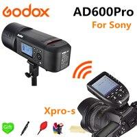 Godox AD600Pro TTL Li Battery 2.4G Wireless X System Outdoor Studio Flash Strobe Light for Sony Camera + Xpro S Flash Trigger