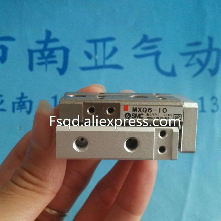 MXQ6-10 MXQ6-20 MXQ6-30 MXQ6-40 MXQ6-50 SMC air slide table cylinder pneumatic component MXQ series