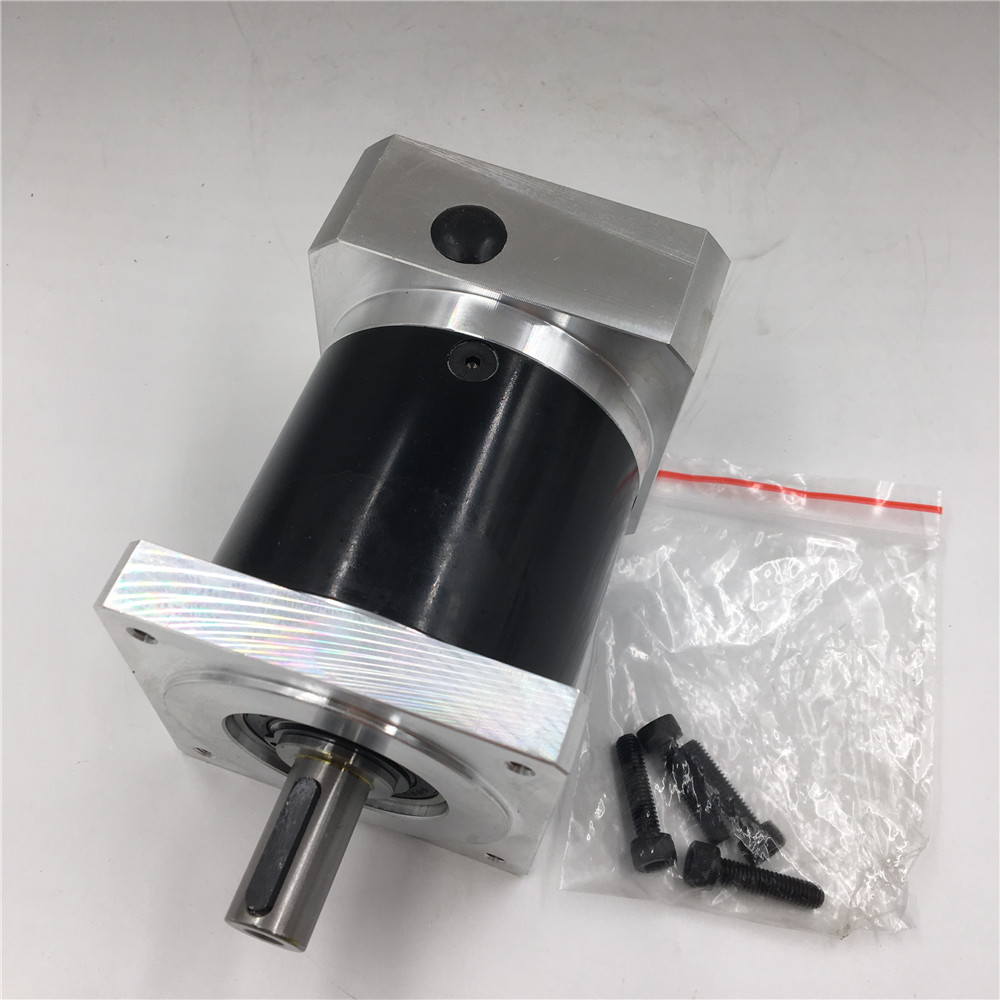 Stepper Motor Planetary Gearbox Nema34 Geared Ratio 40:1 Speed Reducer for 60mm Stepper Motor 57mm planetary gearbox geared stepper motor ratio 10 1 nema23 l 56mm 3a