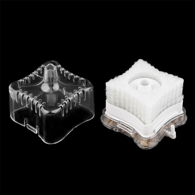 2016 Popular Aquarium aquarium pump oxygen Air Driven Biochemical Sponge Fish Tank Super Activated Carbon Filter