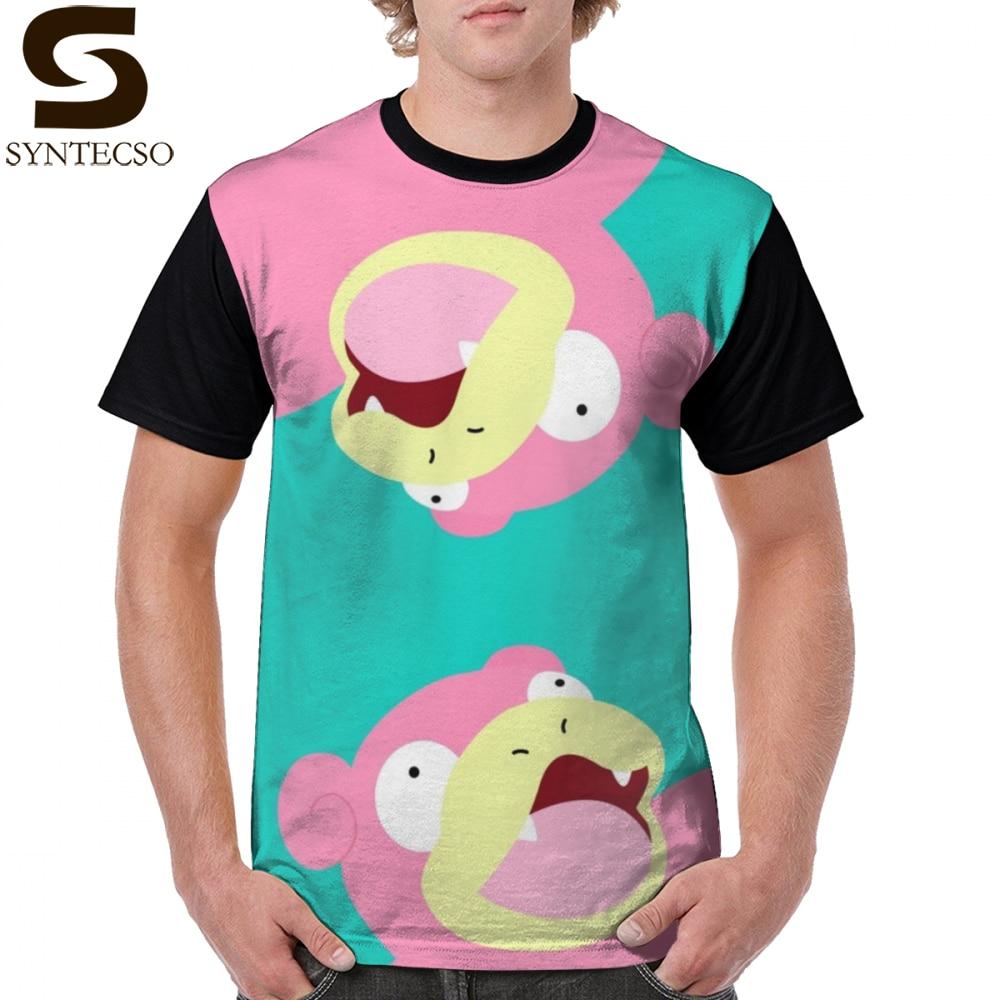 Slowpoke T Shirt Lazy Days T-Shirt 100 Percent Polyester Printed Graphic Tee Shirt Plus Size Streetwear Cute Male Tshirt
