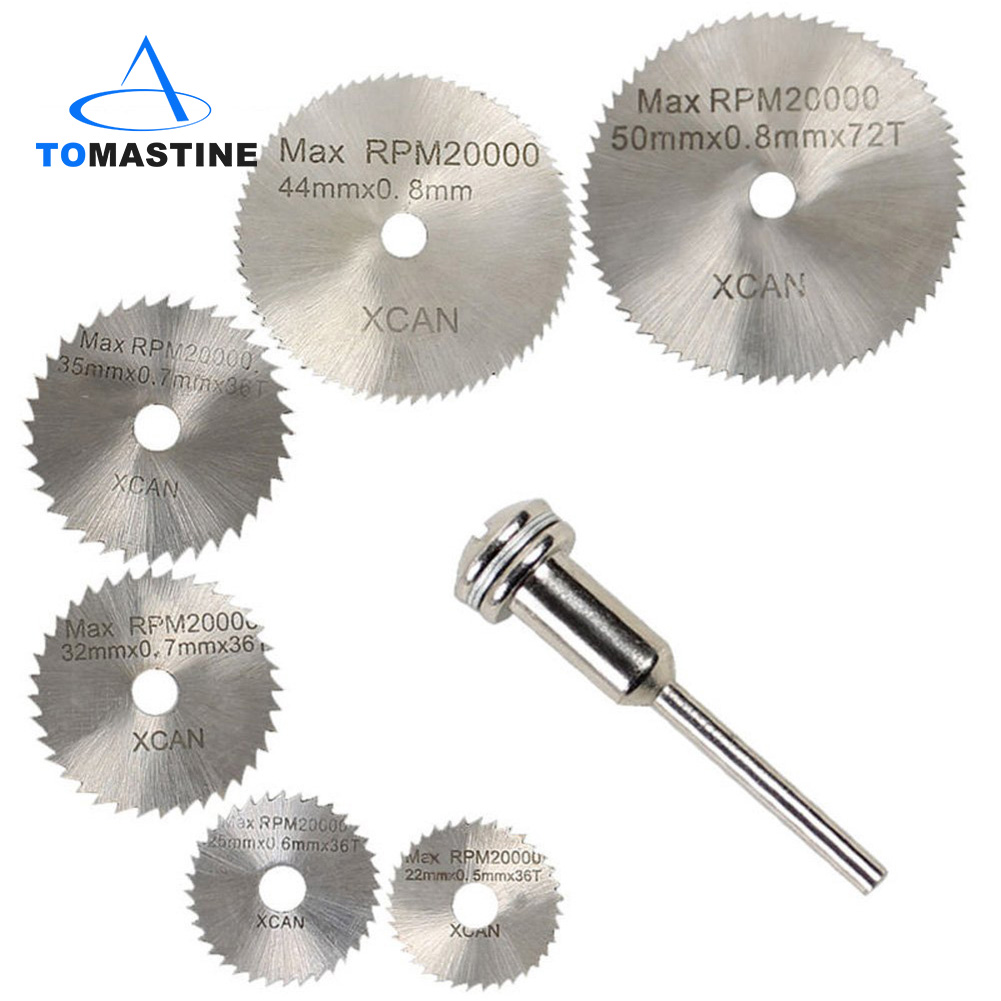 6PCS Saw Blades Sharp High-Speed Steel Cutting Ultra-Thin Small Saw Blade