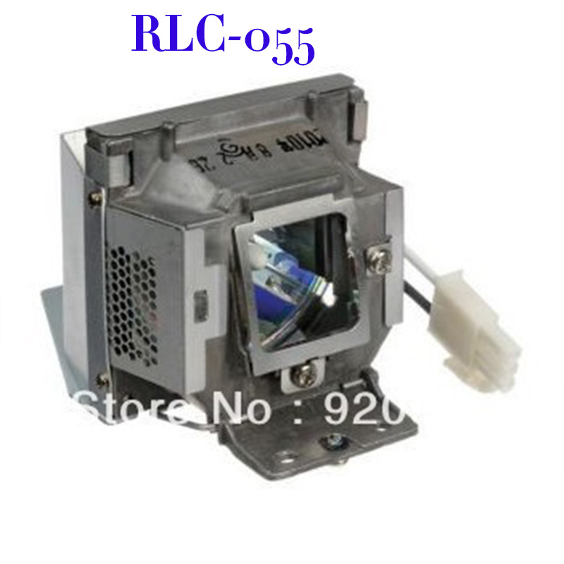 Free Shipping RLC-055 compatible projector Lamp Bulb with housing for PJD5122 PJD5152 PJD5211 PJD5352 Projector free shipping compatible projector lamp with housing r9832752 for barco rlm w8