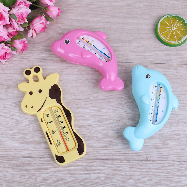 Water Kamer Bad Thermometer Leuke Cartoon Babybadkamer Dolfijn Temperatuur Infant Kid Douche Speelgoed Kind Bad Douche Product 1