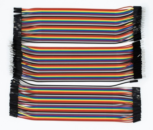 120pcs Dupont line  20cm male to male + male to female and female to female jumper wire Dupont cable for Arduino