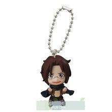 Attaque japonaise d'anime sur Titan swing collection 2 capsule jouet Eren Jaeger Erwin Smith Levi Ackerman Zoe Lenz figure porte-clés