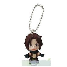 Japanese anime Attack on Titan swing collection 2 capsule toy  Eren Jaeger Erwin Smith Levi Ackerman Zoe Lenz figure keychain