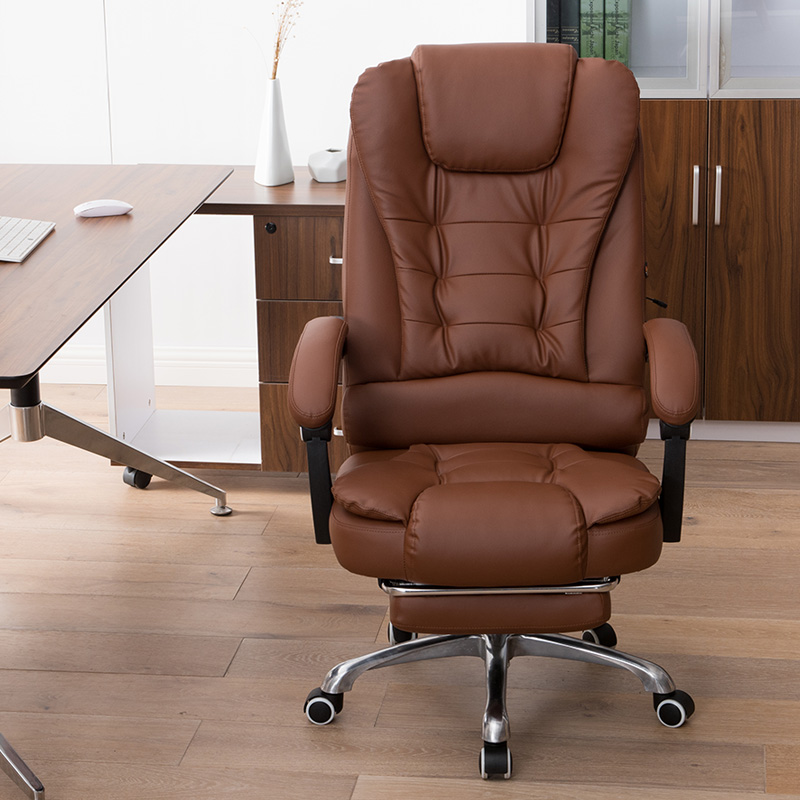 Office Chair Household PU Computer Chair Swivel Lift Gaming Chair Reclining Silla Oficina Silla Gamer 7 Point Massage Function