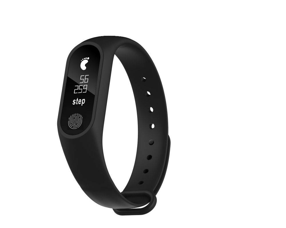 Smartch M2 PlUS Smart Touch Screen Watch Fitness Tracker Heart Rate Wristband Band Message Call Reminder for Xiaomi Android iOS