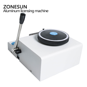 Image 4 - ZONESUN 52 Character Manual Dog Tag Machine Metal Embosser ID Card Stamping Machine Steel Embossing Machine Military Steel 99%