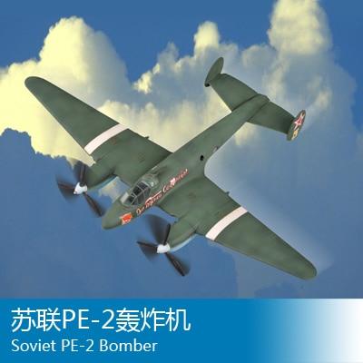 trumpeter 1 72 Soviet PE-2 Bomber 80296 B2