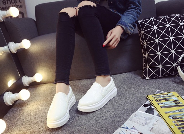 Aumento de la Altura de las mujeres Zapatos Casuales Zapatos de Verano de Moda Estilo antideslizante