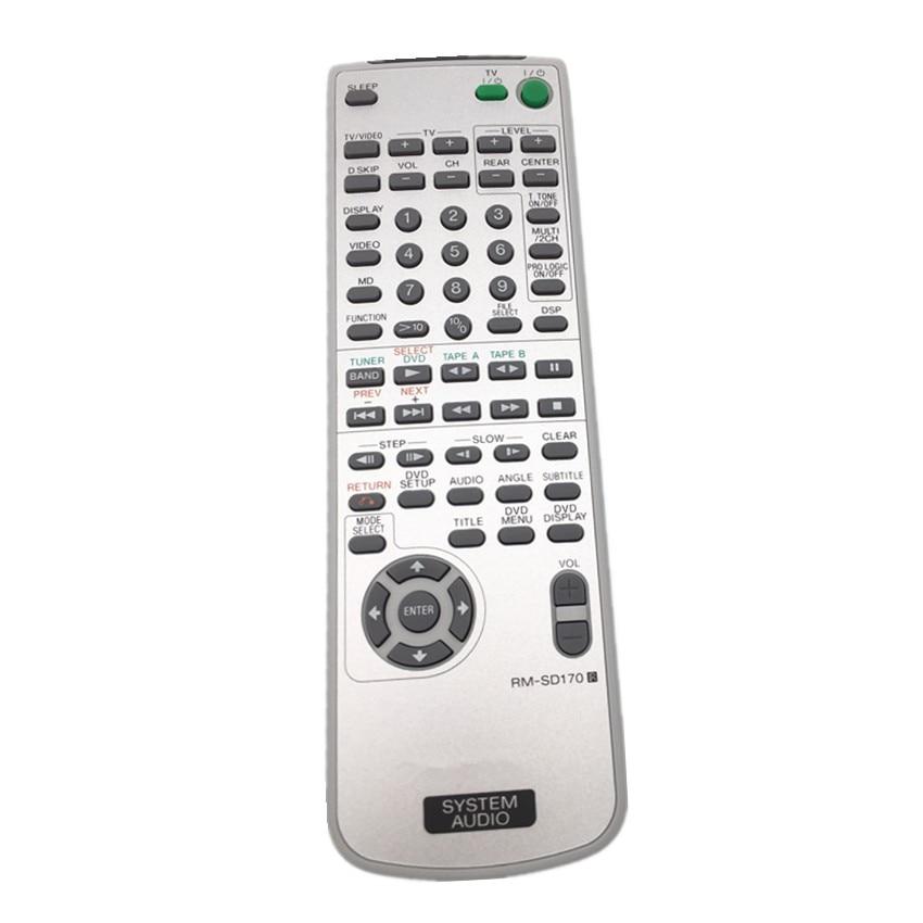 RM-SD170 Remote Control For Sony HCD-ZX70DVD DVD MINI HIFI COMPONENT MHC-ZX70DVD DVD SHELF SYSTEM пульт ду sony rm scr50 system audio mhc gx57xm