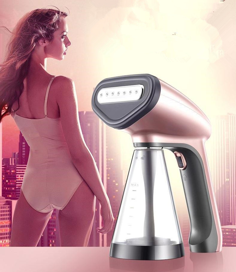все цены на 1200W portable handheld garment steamer for clothes electric mini Steam Iron Handheld dry Cleaning Brush онлайн