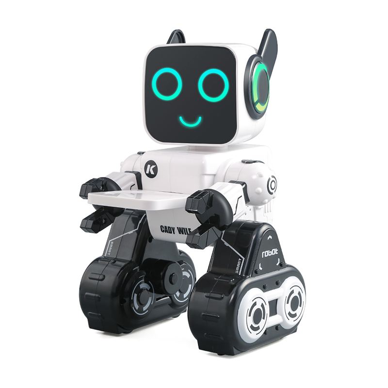 LEORY R4 Original Cady Wile RC Robot Cute Remote Control Voice Control Intelligent Robot With Piggy Bank For Children Kids Gift
