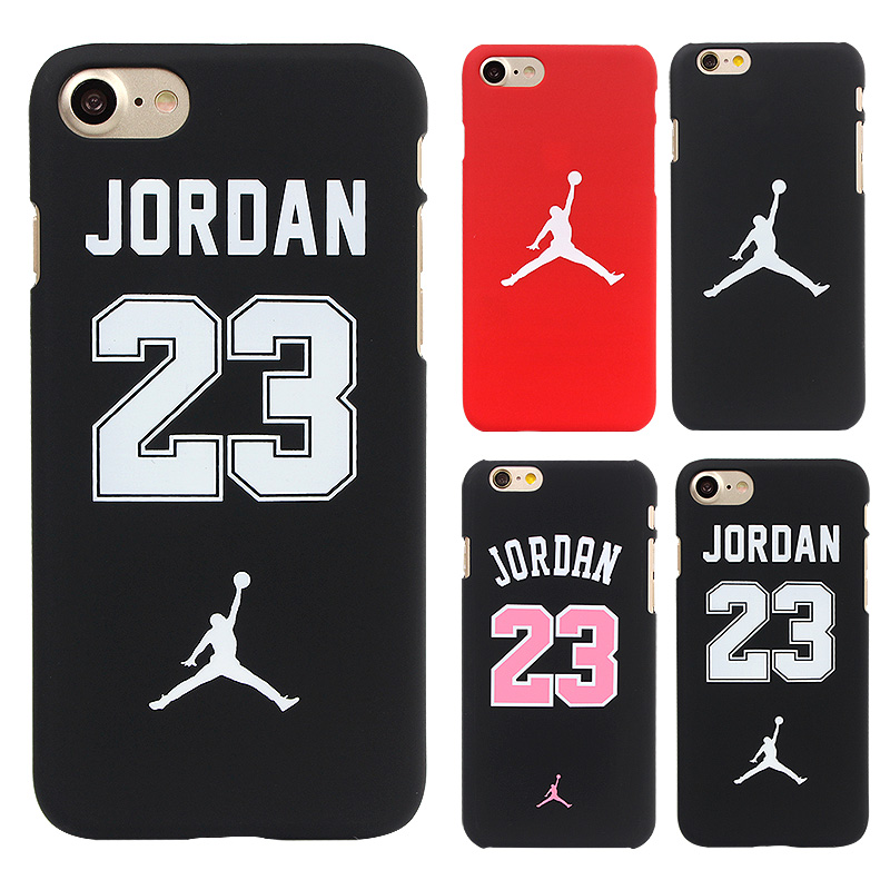 Fashion Jordan Cute Phone Bag Case For iphone 7 6 6s Plus 5 5s SE Cover Hard Funda Coque Back Cover For Iphone 7 6 6S Case Capa