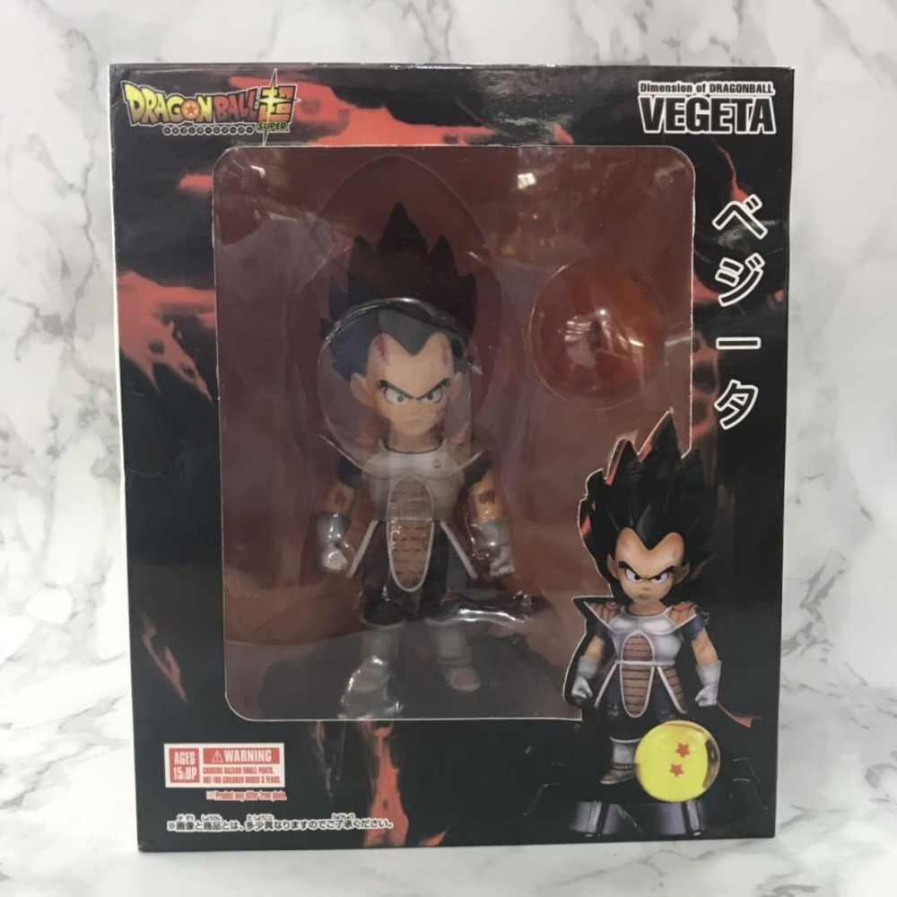 17 cm Dimensão de Dragonball Super Vegeta Dragon Ball GK PVC Action Figure Collectible Para Crianças Presentes Brinquedos Brinquedos