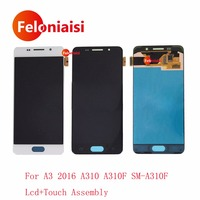 High Quality 4 7 For Samsung Galaxy A3 2016 A310 A310F SM A310F Full Lcd Display