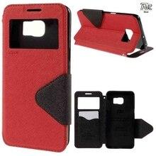 Чехол для телефона Капа для Galaxy S6 edge + оригинальный рев Корея Дневник Посмотреть кожаный чехол Коке для Samsung Galaxy S6 край плюс G928