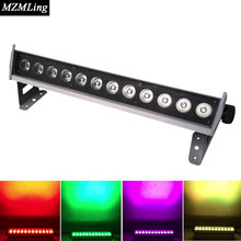 12x3W 4IN1 RGBW Waterproof Led Wall Wash Light DMX512 Washer Led Outdoor /Flood Light DJ /Bar /Party /Show /Stage Light