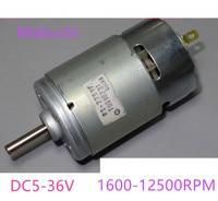 Motor 775 12 v 24 v 36 v grande torque substituir para RS-775WC-8514 RS-775VF-4047 bosch makita hitachi broca circular viu diy