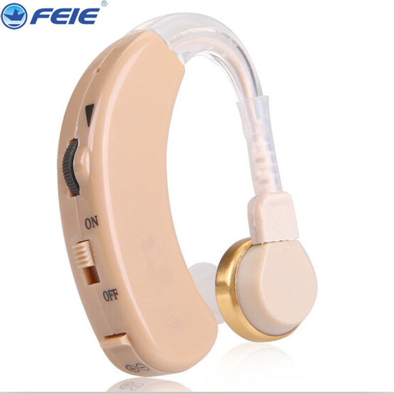 FEIE ear amplifier aparat analog hook hearing aid aids the ear listens S-520 adjustable toneamplifier Free Dropshipping