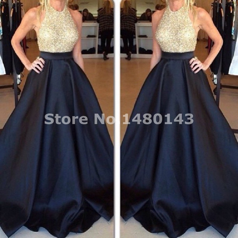 Popular Blue Gold Dress-Buy Cheap Blue Gold Dress lots from China ...