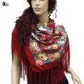 Квадратные шарфы 2017 Новых женщин Способа Шарф Отпечатано Женщины Марка Обертывания осени Зимы дамы шарфы для леди бесплатная доставка