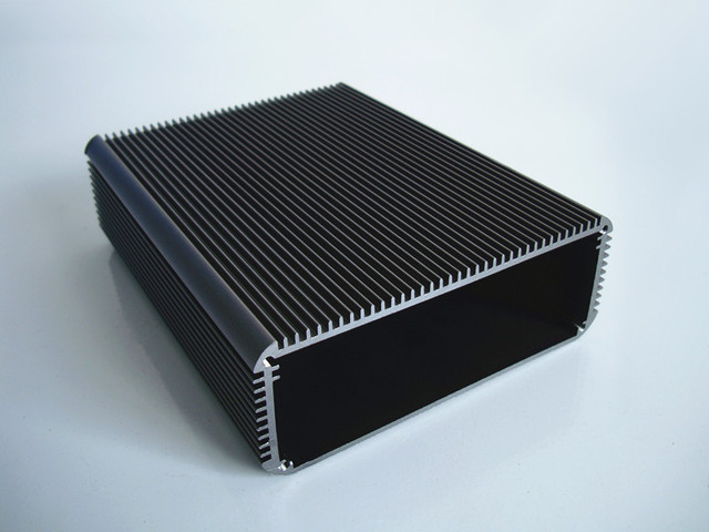 Aluminum shell PCB Aluminum enclosure Chassis heat radiation box 120*45*150mm for electronics amplifier distribution