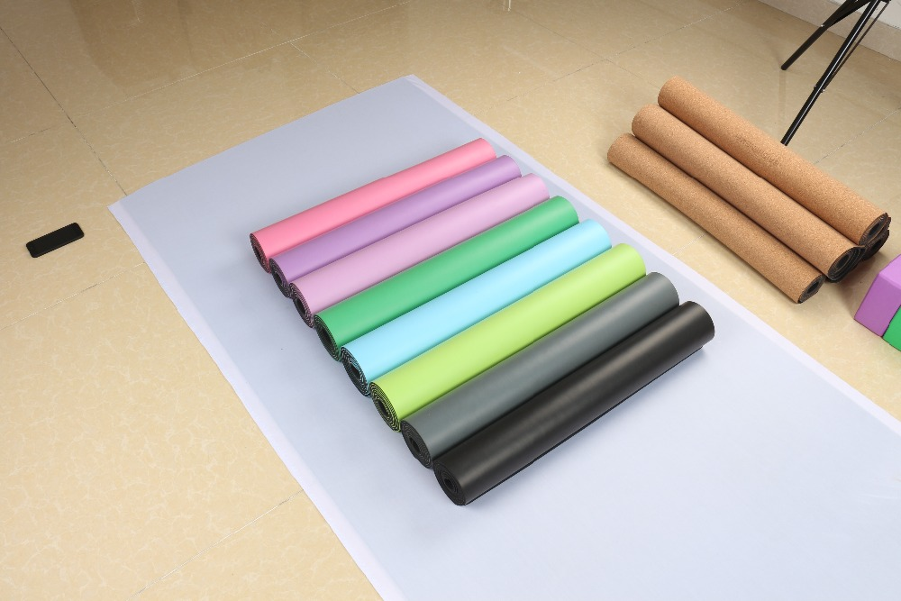 Natural Rubber Eco Friendly Non Slip Best Yoga Mat For Hot