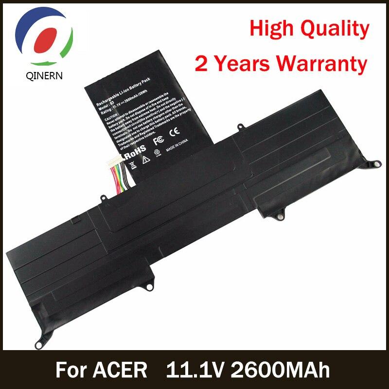 все цены на QINERN 11.1V 2600MAh Battery For ACER Laptop Battery for SA-S3 Noteook Battery For ACER Aspire Series Aspire S3 Ultrabook 13.3 онлайн