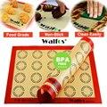 WALFOS Nicht-Stick Silikon Back Matte Pad Blatt Backen gebäck werkzeuge Rolling Teig Matte Große Größe für Kuchen Cookie macaron