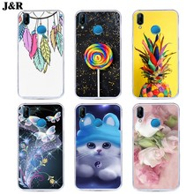 Cartoon Patterned Phone Case For Huawei P20 Lite Back Cover For Huawei P20 P 20 Lite Pro Plus Nova 3e 20lite Silicone Soft Cases(China)