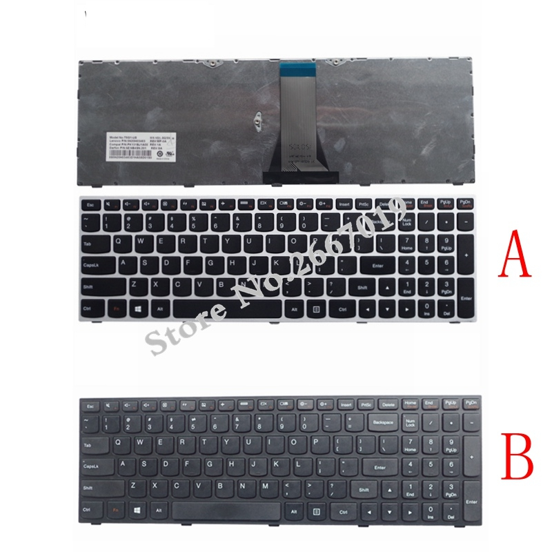 цена на New English Replace laptop keyboard For LENOVO Z50-70 Z50-70A Z50-75 Z50-80E Z51-70 Z51-70A G50 Z50 B50 G50-70 G50-45
