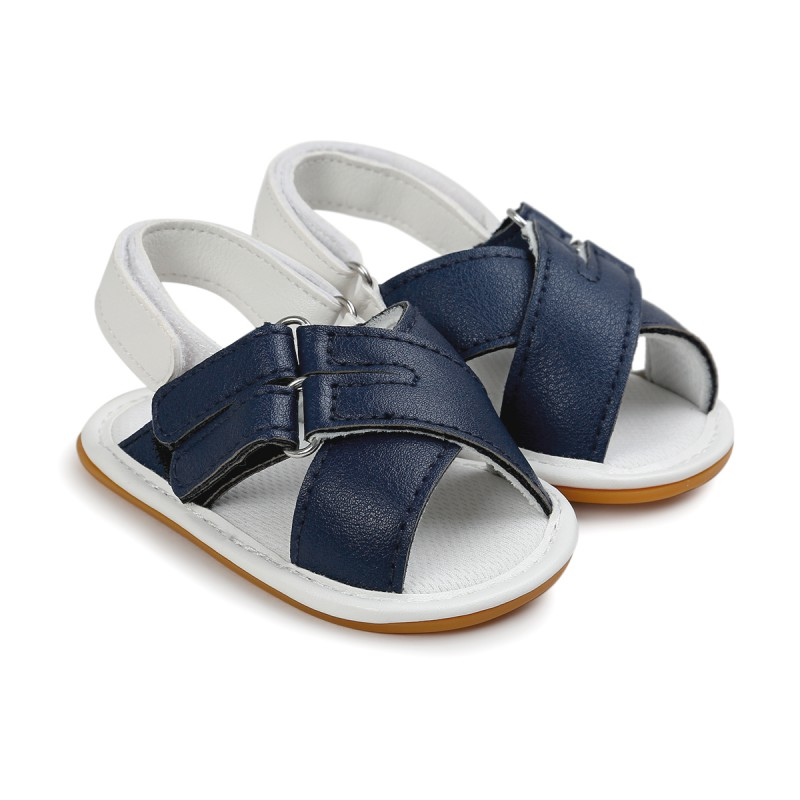 Summer Shoes Baby Sandals Soft Leather Prewalker Soft Sole Genuine Leather Beach Sandals