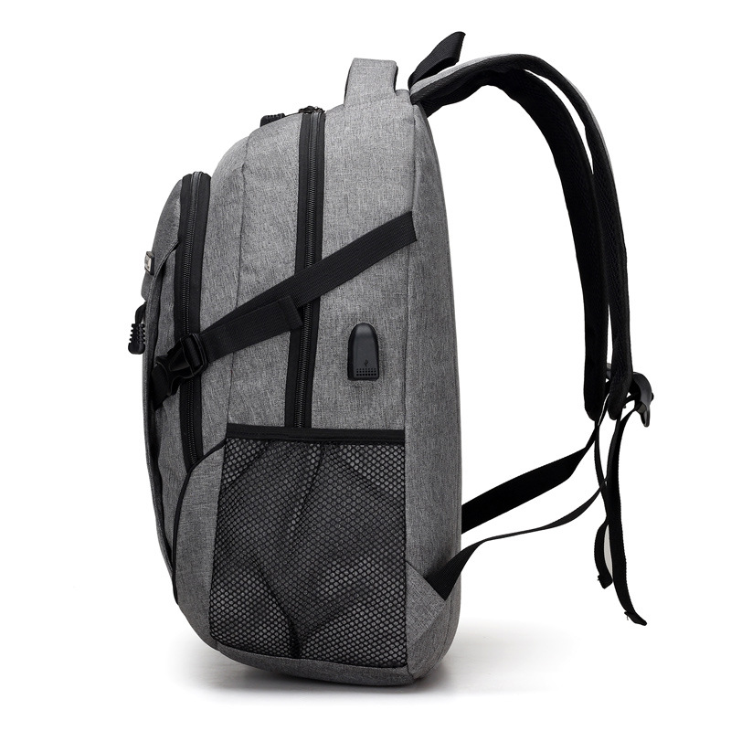 NEW Men Backpacks canvas School Backpack for Teenager girls boys 14-16inch Notebook Mens Travel Bags High quality Bags with USB