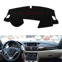 For BMW X1 2010 2015 Car Dashboard Avoid Light Pad Instrument Platform Desk Cover Mat With