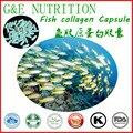 Calidad superior de 10:1 Cápsula de 500 mg de colágeno de Pescado * 1000 unids