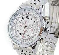 Wholesale White Stylish Multi Wrist Watch Date Automatic Men Army
